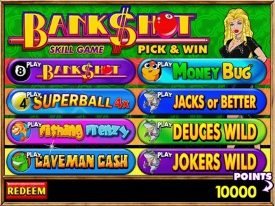 BankShot Pick & Win FF3