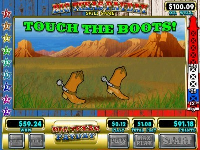 Touch the Boots Bonus